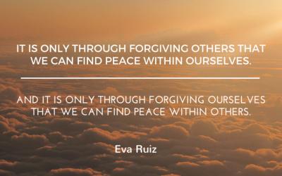 How do you forgive yourself?