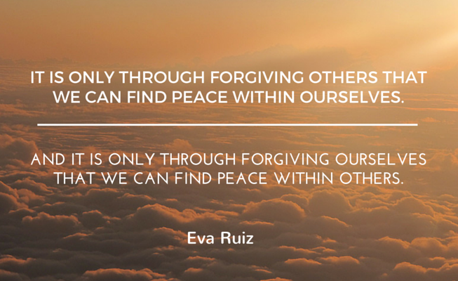 How do you forgive yourself?