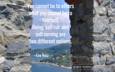 You can't be to others what you can't be to yourself