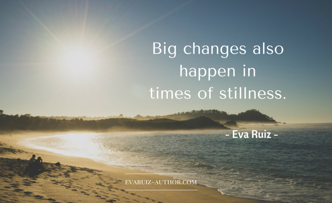 Do you fear times of stillness?